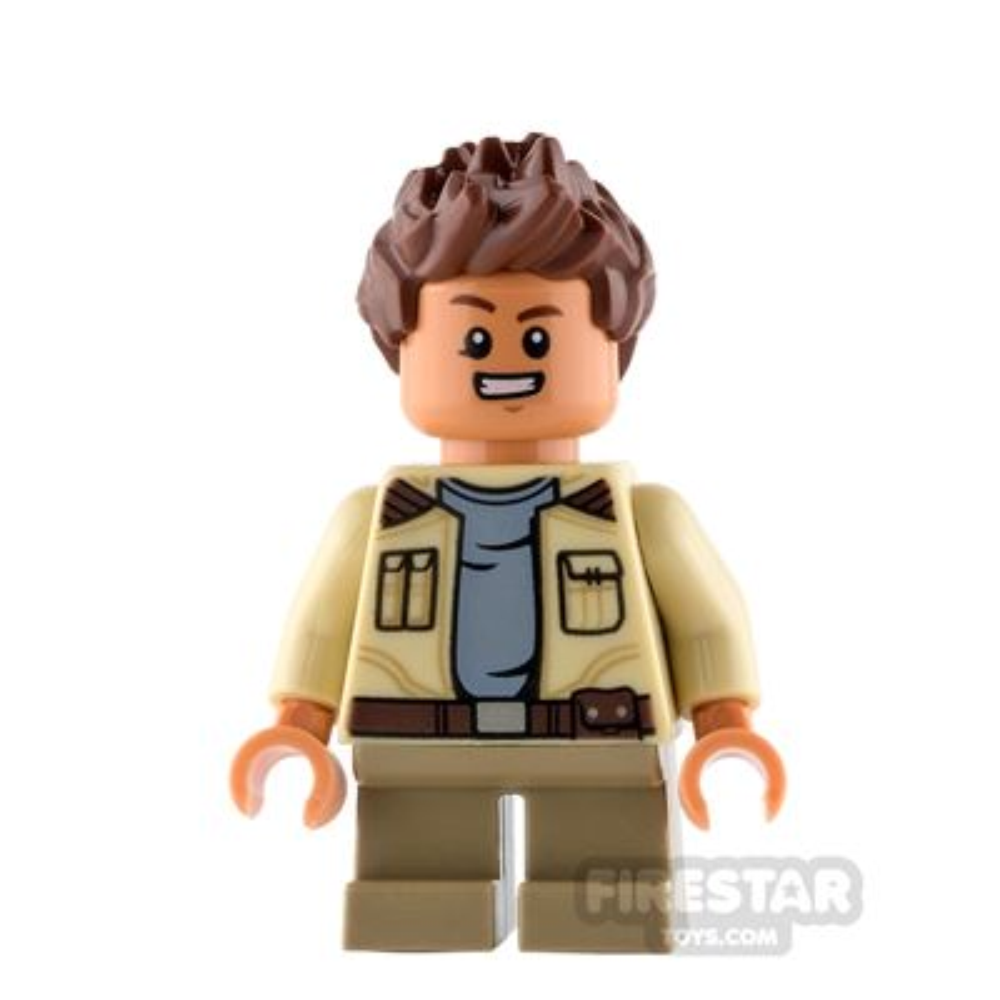 LEGO Star Wars Mini Figure - Rowan - Tan Jacket