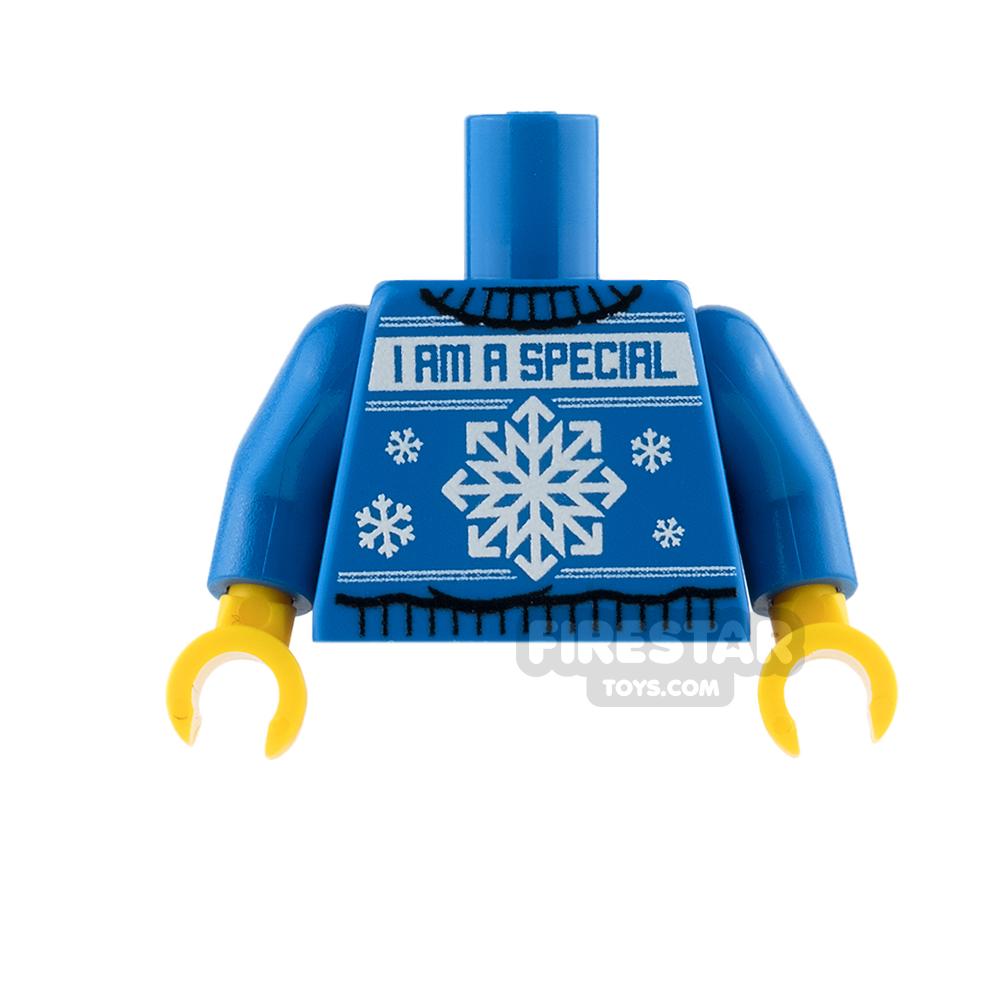 Custom Design Torso - Christmas Jumper - Special Snowflake