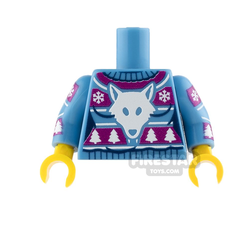 Custom Design Torso - Christmas Jumper - Winter Wolfpack