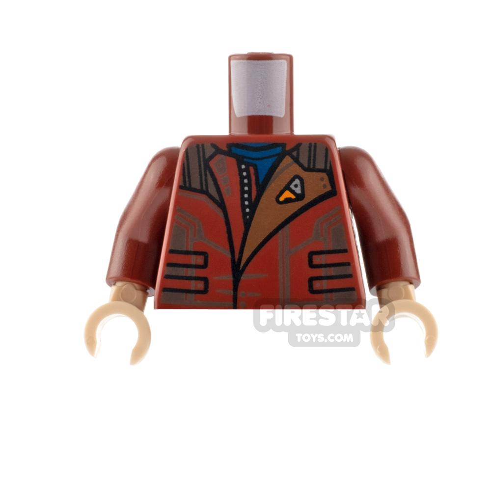 Custom Design Torso - Extra Life! - Sand Blue