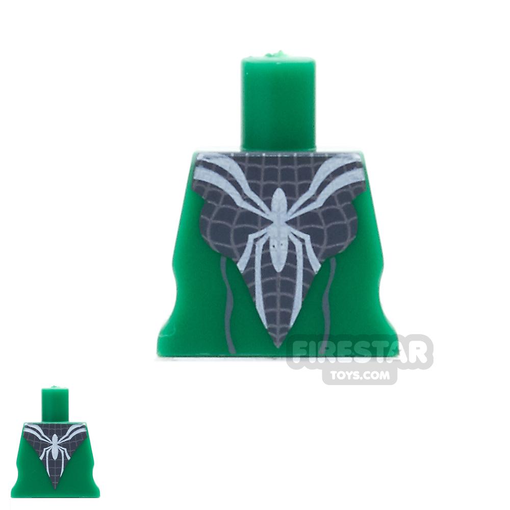 Arealight Mini Figure Torso - Arachne Dress - Green