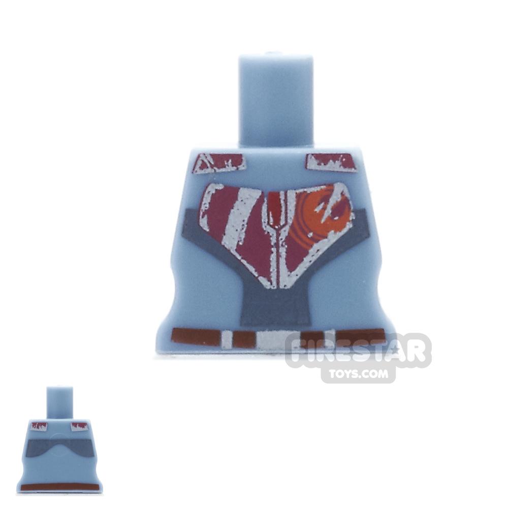 Arealight Mini Figure Torso - Rebel - Sand Blue