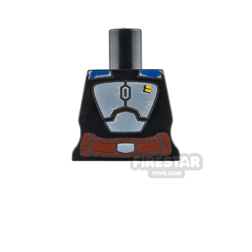 Arealight Mini Figure Torso - BO2 Suit - Black