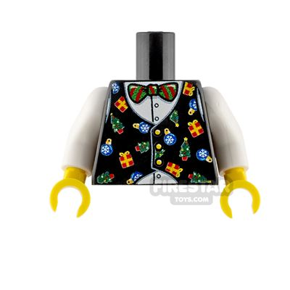 Custom Design Torso Christmas Waistcoat