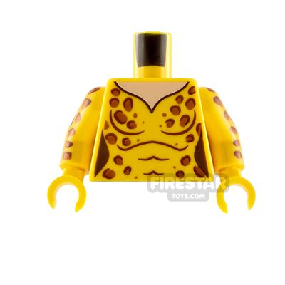 LEGO Minifigure Torso Catsuit with Leopard Spots