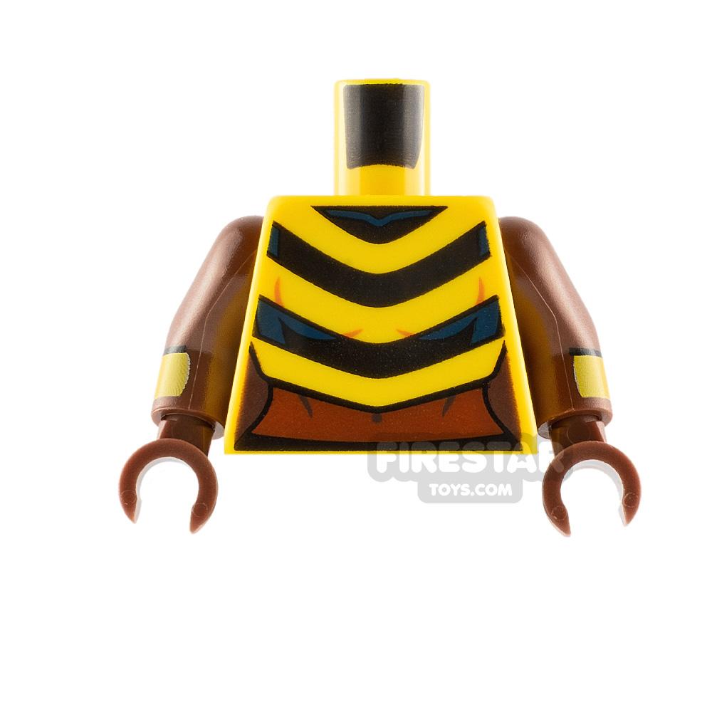 LEGO Minifigure Torso Bumblebee Stripes