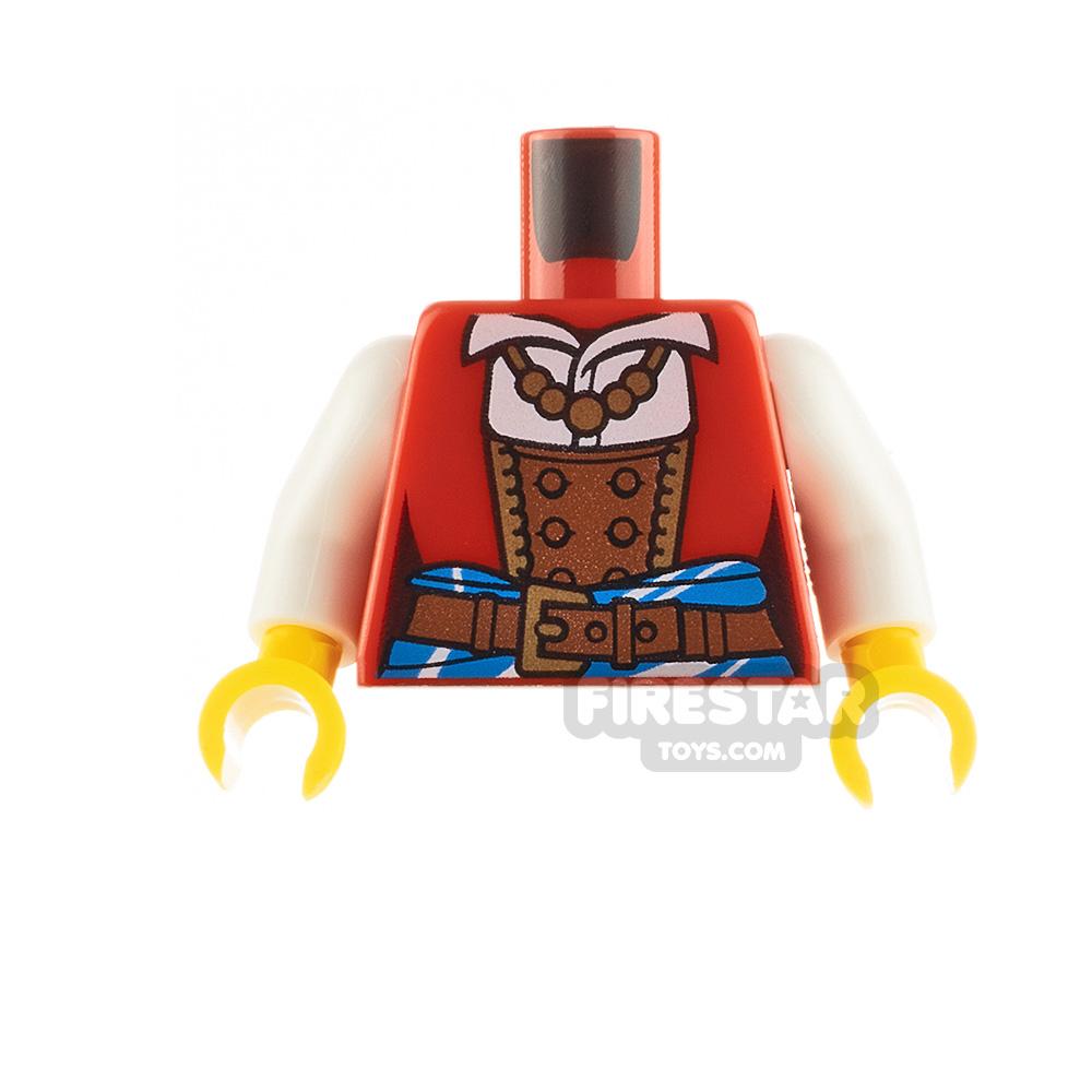 LEGO Minifigure Torso Jacket and Corset