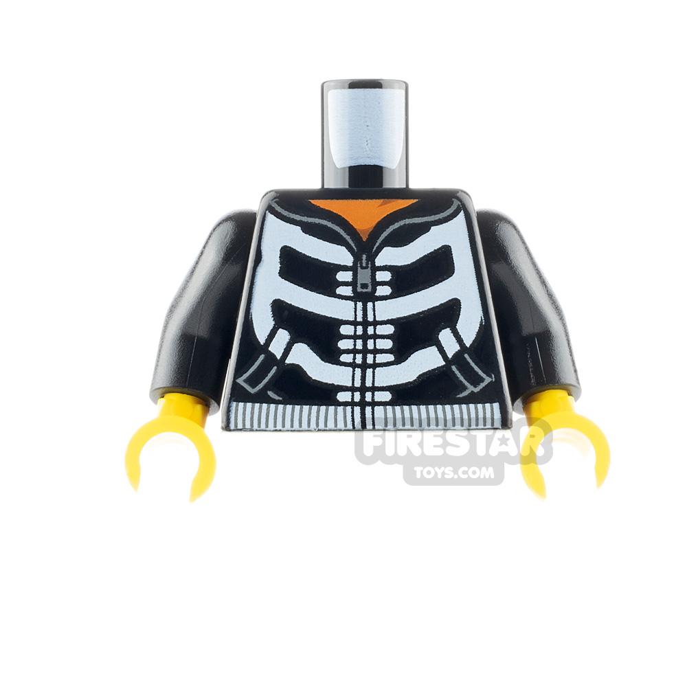 LEGO Minifigure Torso Skeleton Hoodie