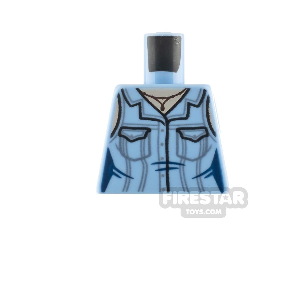 LEGO Minifigure Torso Blouse with Pockets No Arms