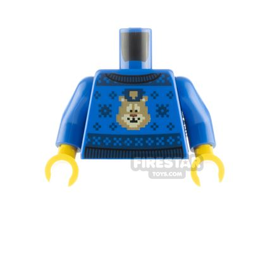 LEGO Minfigure Torso Christmas Jumper Police Animal