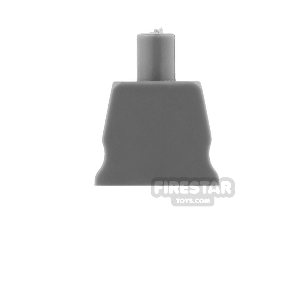Arealight Mini Figure Torso - Plain - Dark Gray