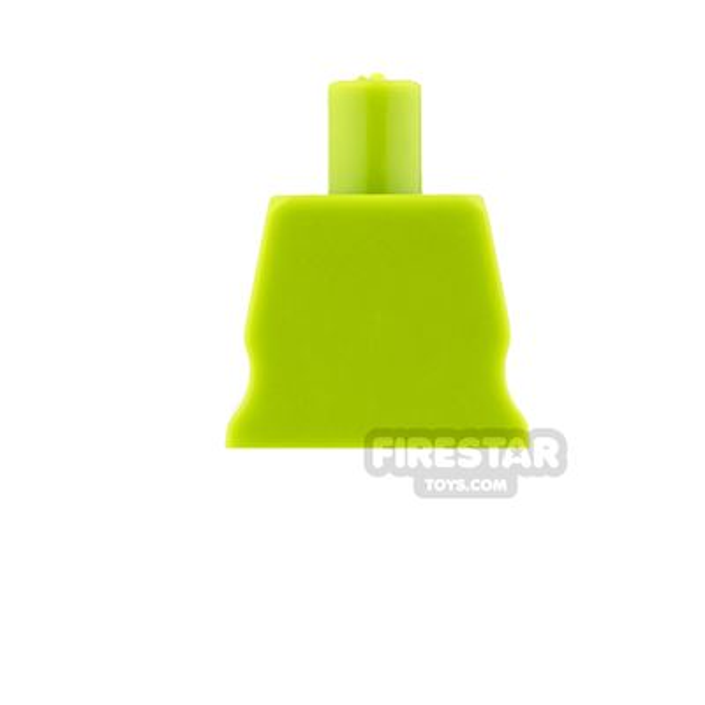 Arealight Mini Figure Torso - Plain - Lime
