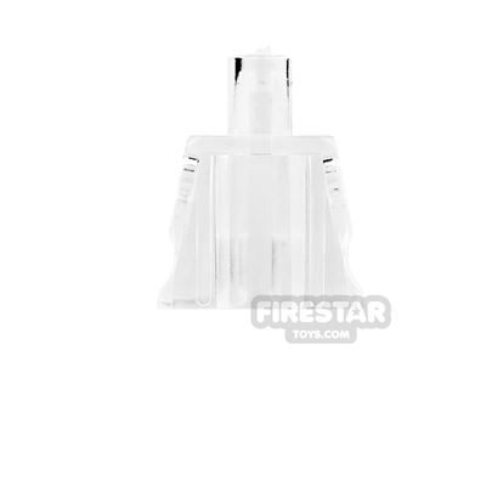 Arealight Mini Figure Torso - Plain - Trans Clear