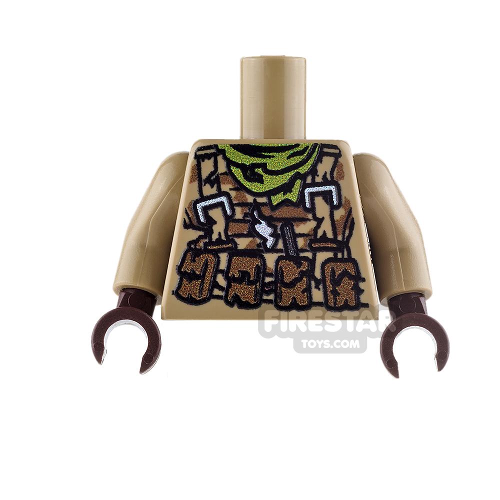 Custom Design Torso - Desert Trooper Camo - Zombie