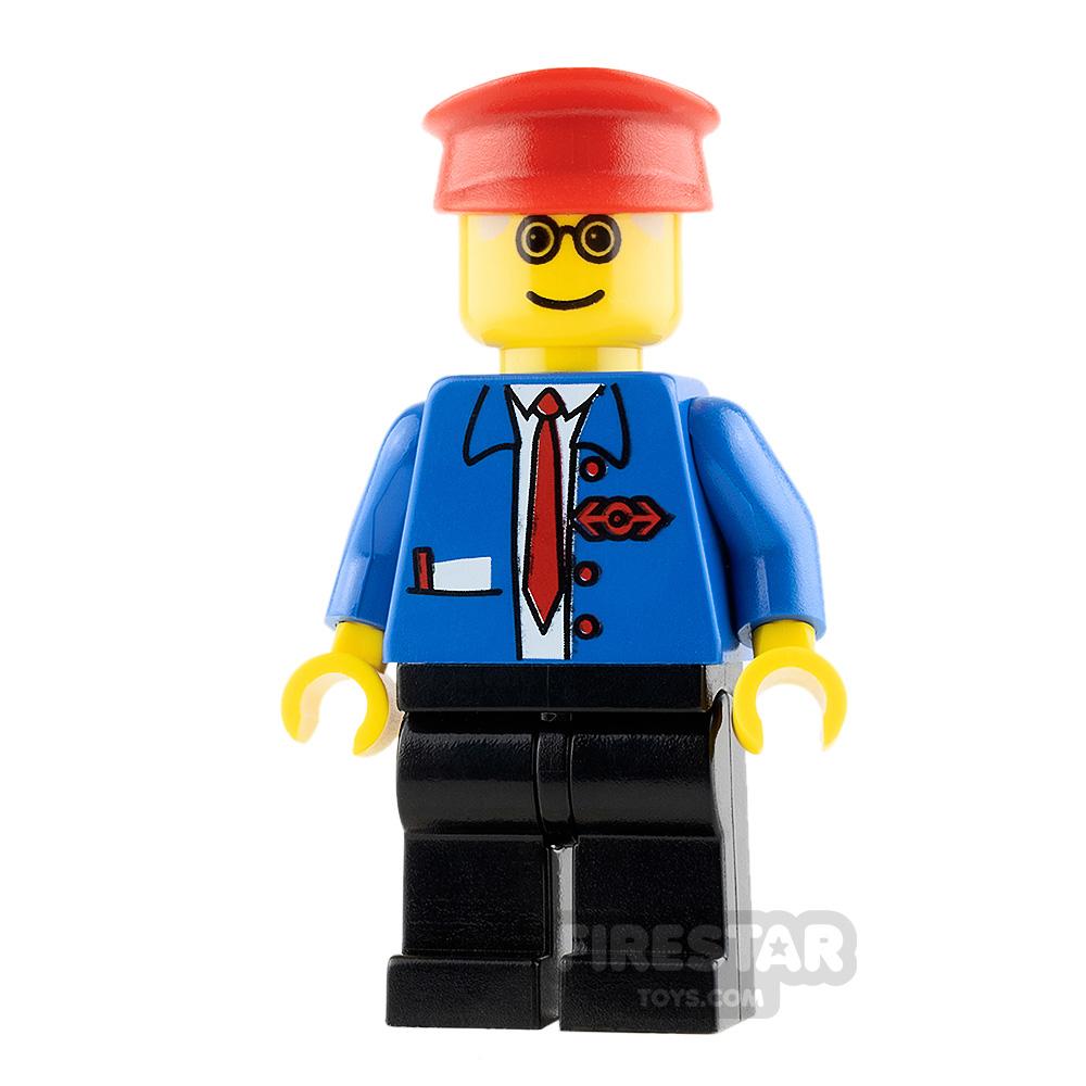 LEGO City Minifigure Railway Employee