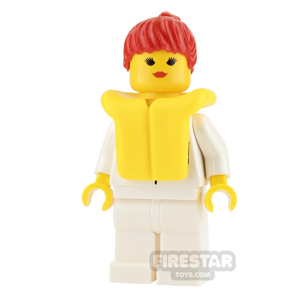 LEGO City Mini Figure - Female with Life Jacket