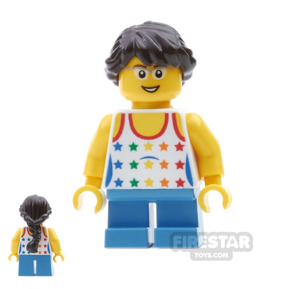 LEGO City Mini Figure - Rainbow Top