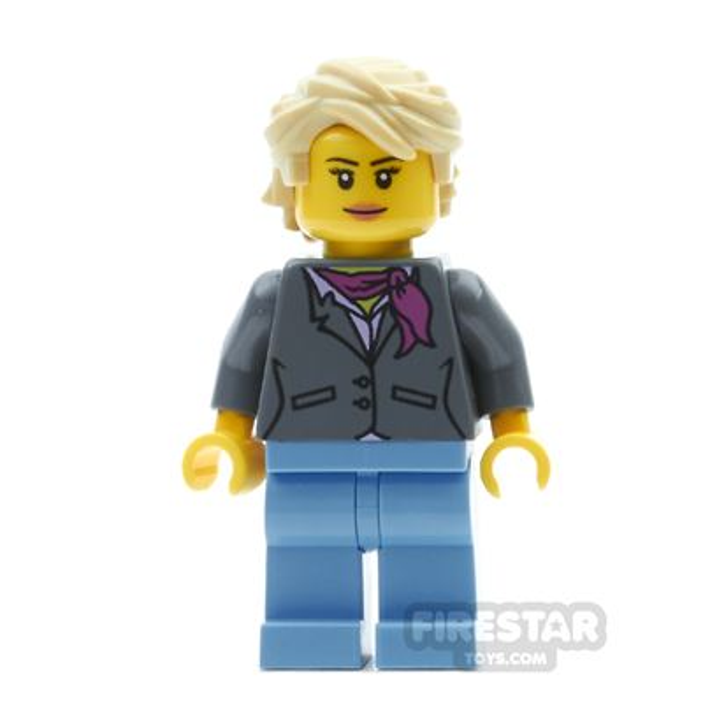 LEGO City Mini Figure - Grandma with Gray Jacket
