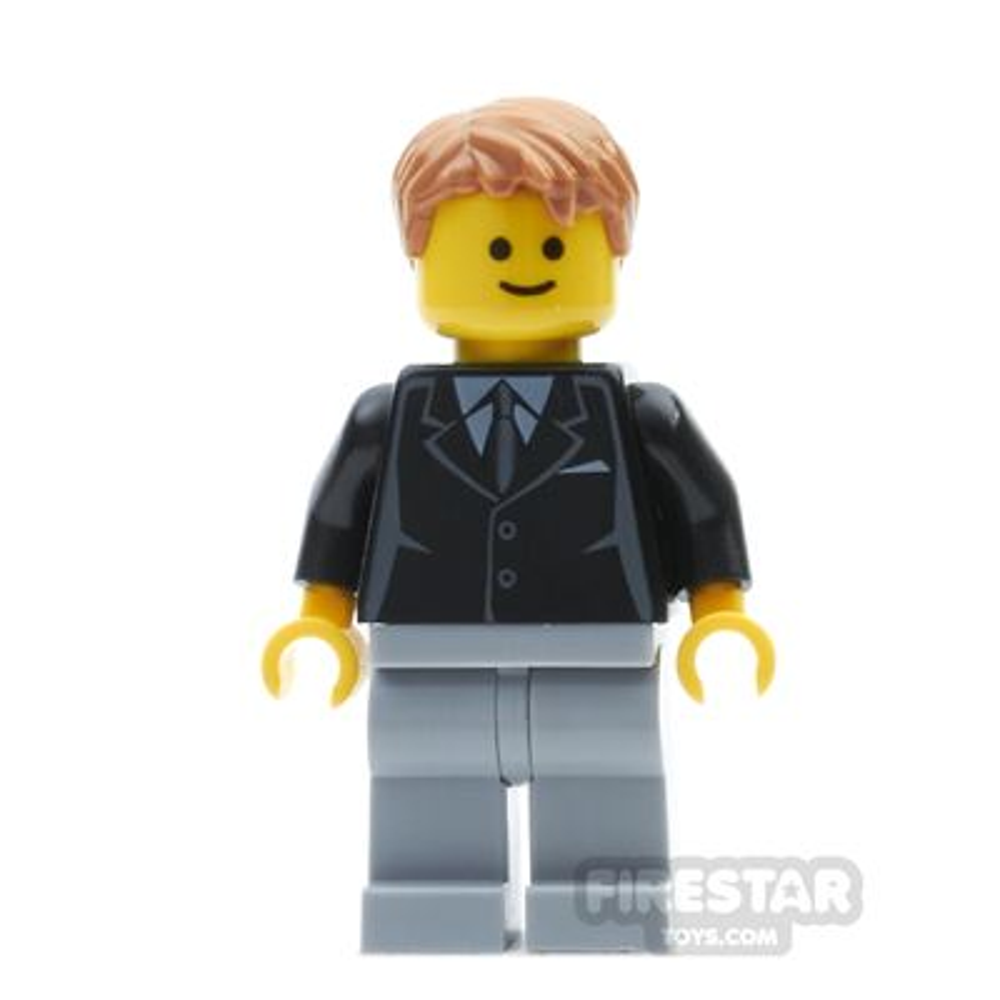 LEGO City Mini Figure - Bank Secretary