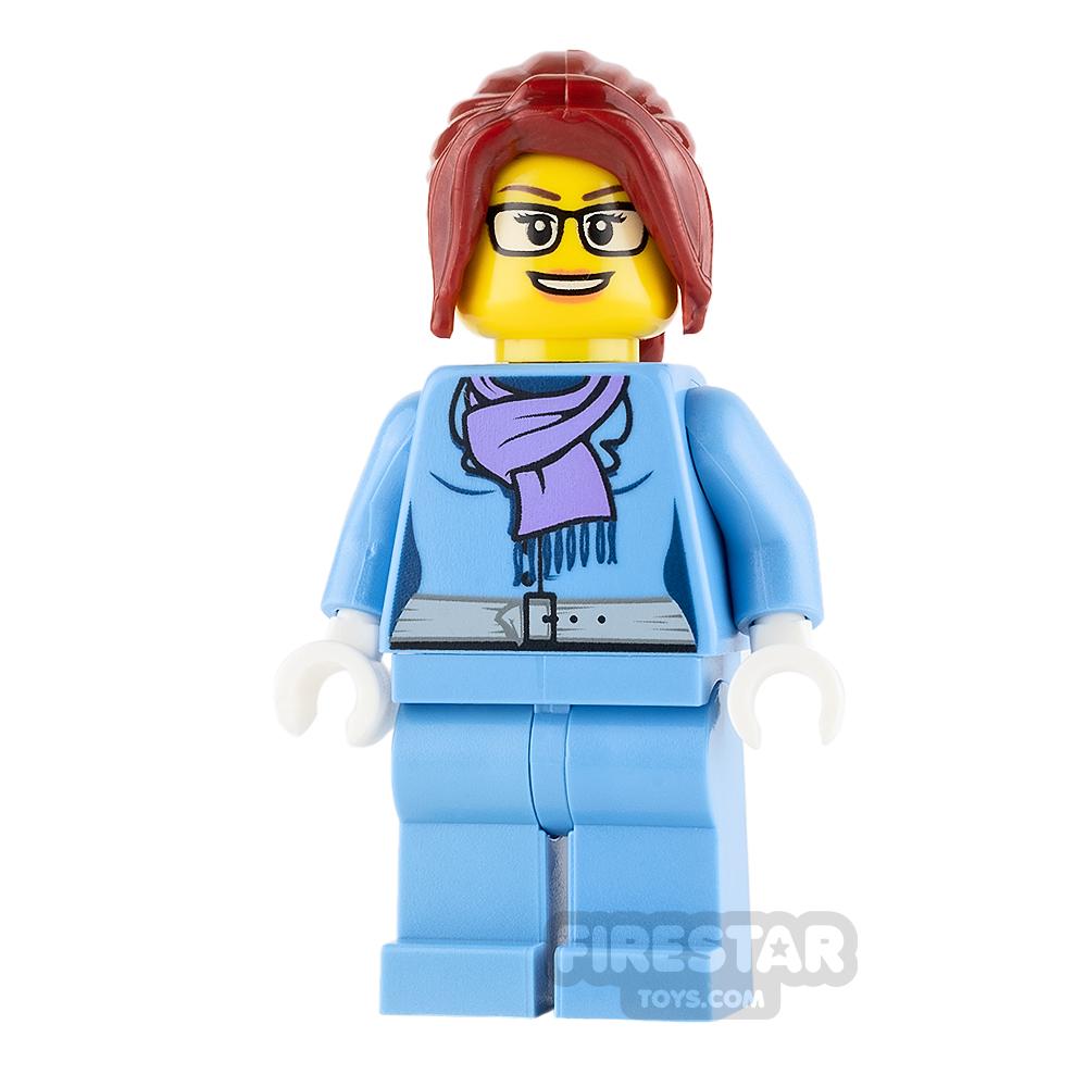 LEGO City Mini Figure - Female Winter Vacationer