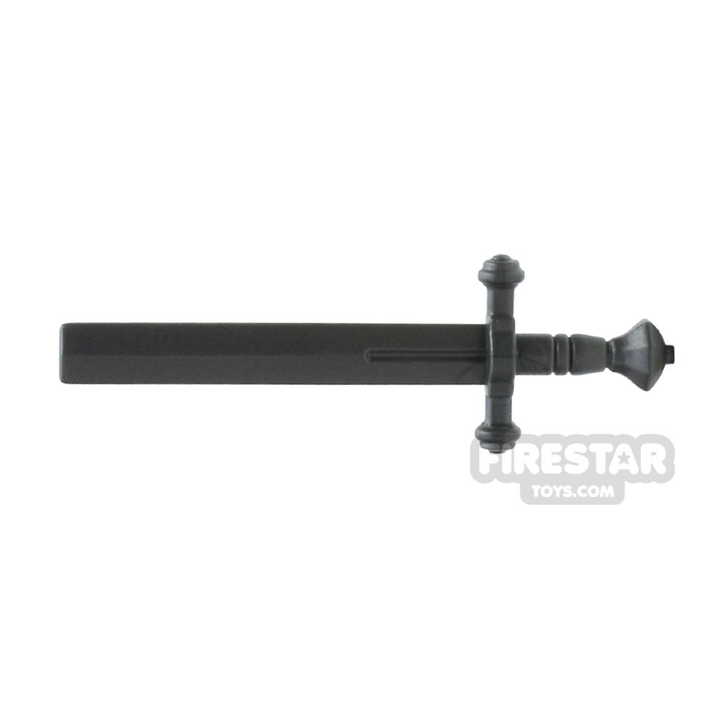 BrickWarriors - Executioner Sword - Steel
