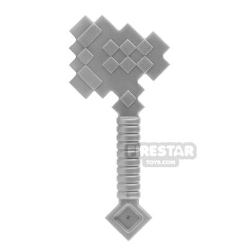 LEGO - Minecraft Axe - Flat Silver