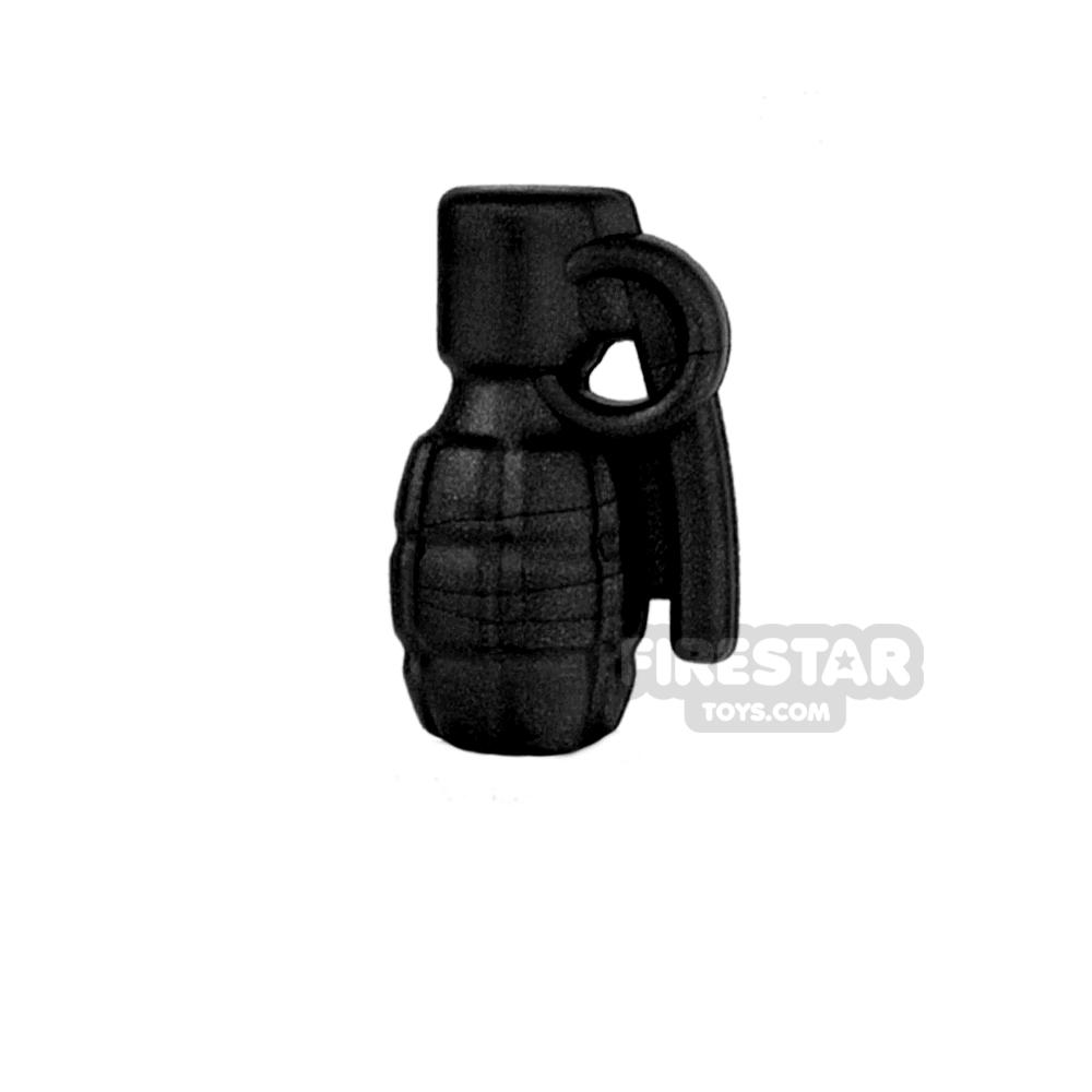 BrickWarriors - Frag Grenade - Black