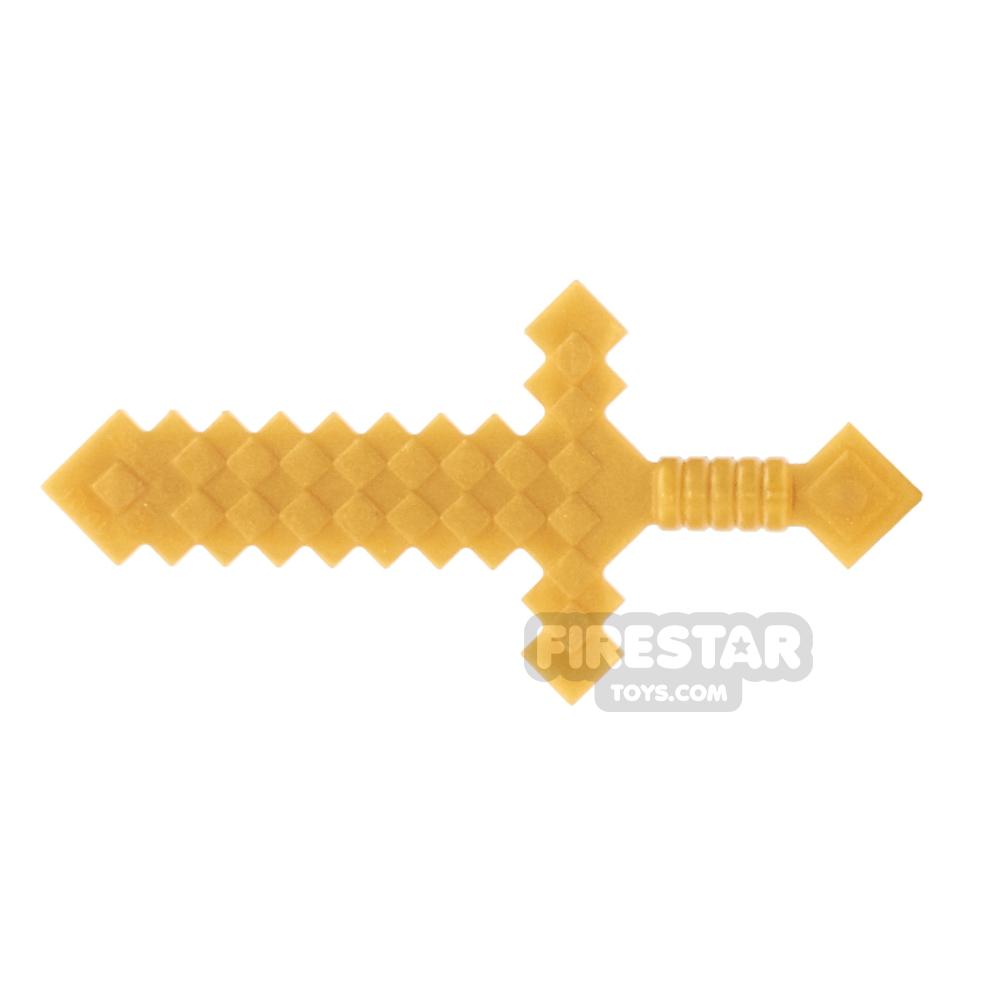 LEGO - Minecraft Sword - Pearl Gold