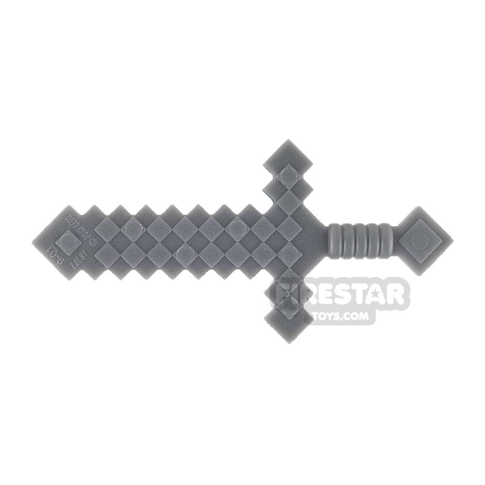 LEGO - Minecraft Sword - Dark Blueish Gray