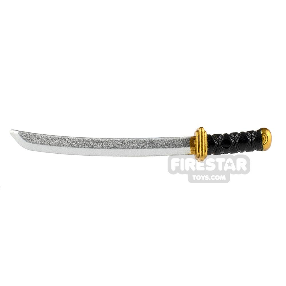 Minifigure Weapon Katana Square Guard