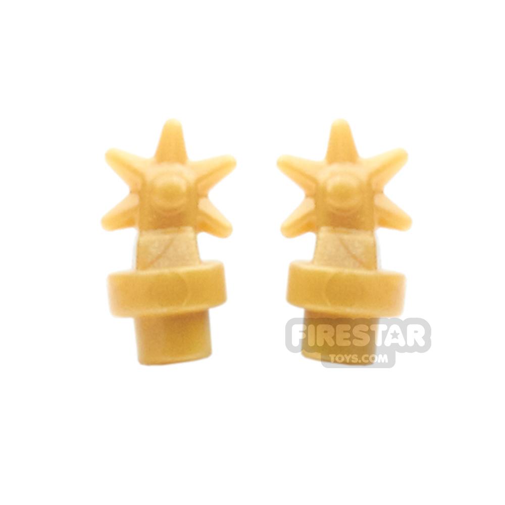 BrickWarriors - Spurs - Pearl Gold