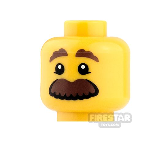 View Minifigure Heads with Facial Hair products