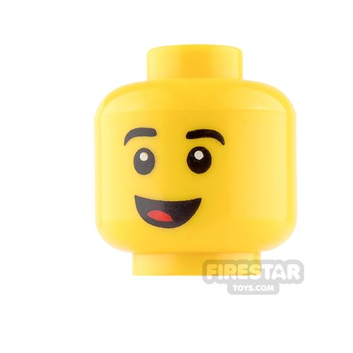 View Minifigure Male Heads products
