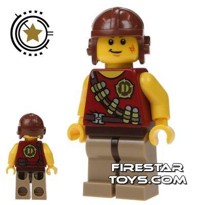 LEGO Dino Mini Figure - Hero - Tranquilizer Belt