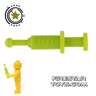 LEGO - Syringe - Lime