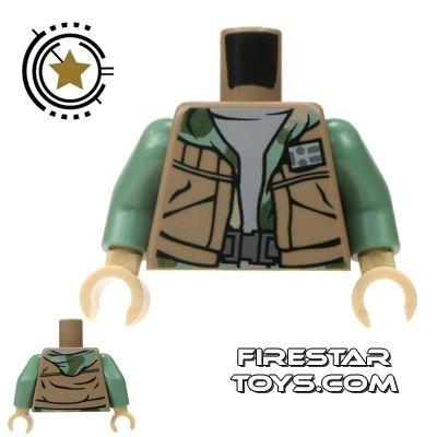 LEGO Mini Figure Torso - Rebel Commando