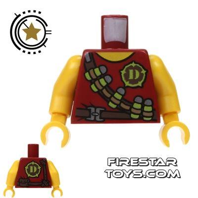 LEGO Mini Figure Torso - Tranquilizer Bandoleer