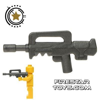BrickWarriors - French Assault Rifle - Steel