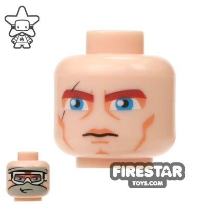 LEGO Mini Figure Heads - Anakin - Snow Goggles