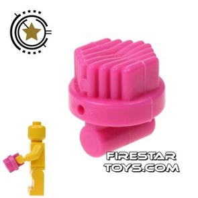 LEGO - Round Brush - Dark Pink