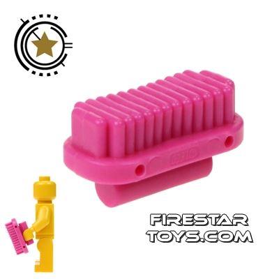 LEGO - Oval Brush - Dark Pink
