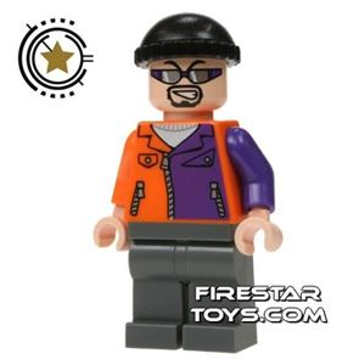 LEGO Super Heroes Mini Figure - Two Face's Henchman - Sunglasses