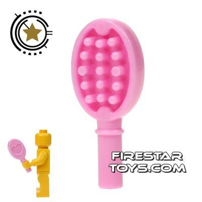 LEGO - Hair Brush - Bright Pink