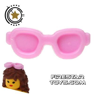 LEGO Hair Accessory - Sunglasses - Bright Pink