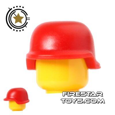 BrickForge - Military Helmet - Red