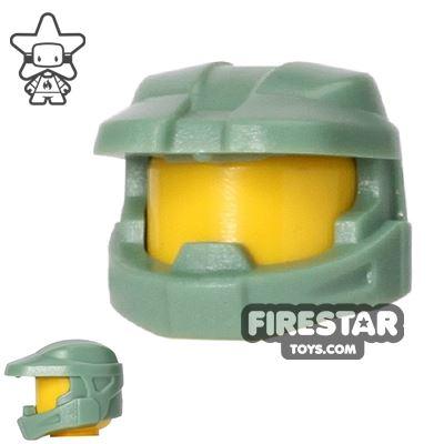 BrickForge - Halo Space Marine Helmet - Sand Green