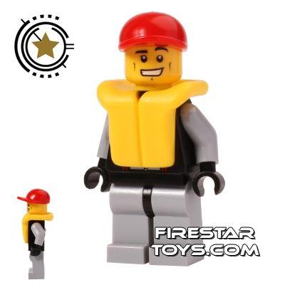 LEGO City Mini Figure - Lifeguard