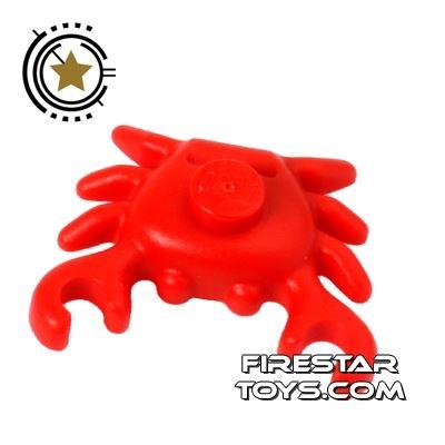 LEGO Animals Mini Figure - Crab - Red