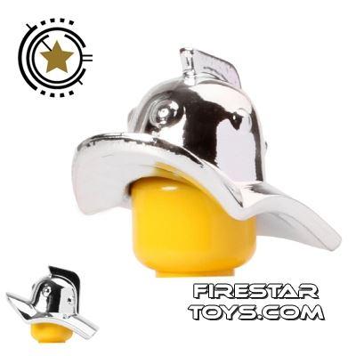 BrickForge - Gladiator Helmet - Chrome Silver
