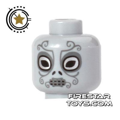 LEGO Mini Figure Heads - Death Eater Mask